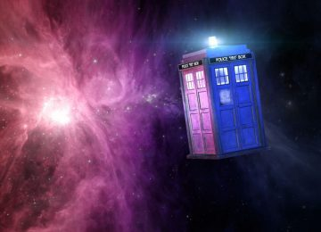 THE TARDIS IS REAL AND I HAS ALL THE FEELS