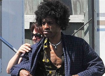 abc82f117331 First Clip Of Andre 3000 As Jimi Hendrix (VIDEO)
