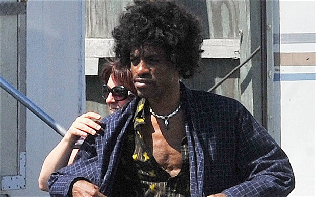First Clip Of Andre 3000 As Jimi Hendrix