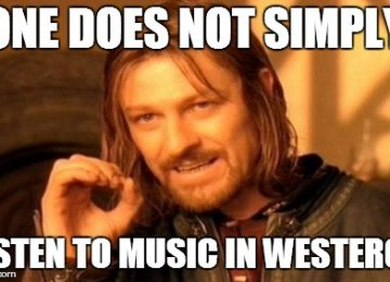Game of Thrones for Easy Listening