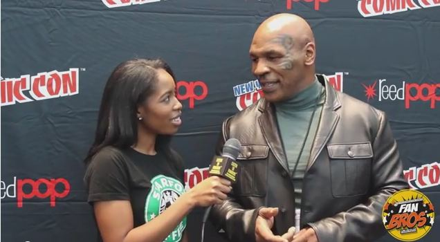 Mike Tyson and Tatiana Jones