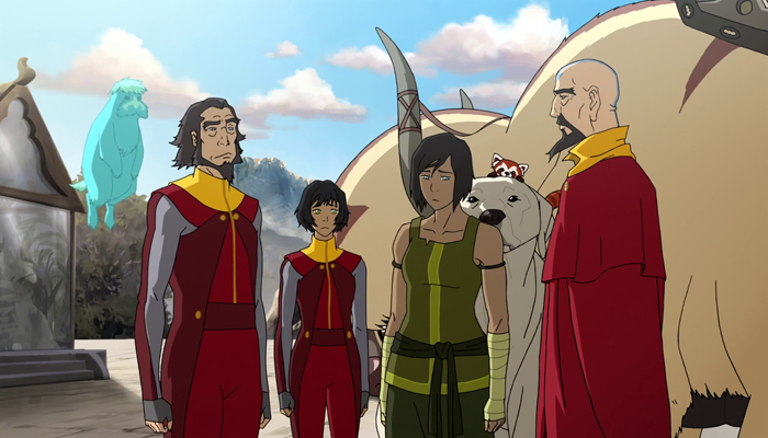 The Legend Of Korra Reunion Review For All Nerds