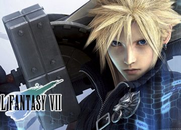 Final Fantasy VII on the PS4