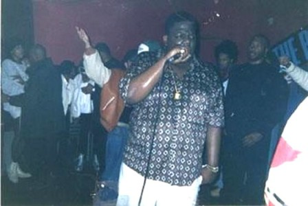 Biggie performing at Jamaica House