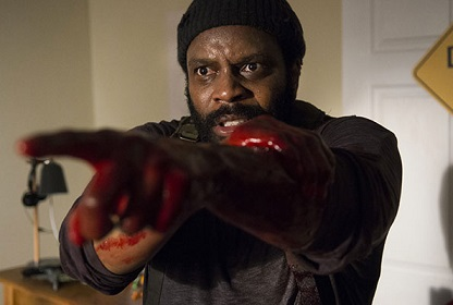 Don't be so accusatory, Tyreese. You were slipping and got GOT