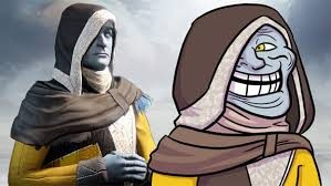 The Cryptarch be trolling.