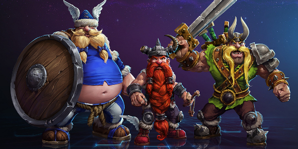 heroes of storm vikings