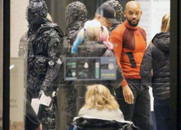 Suicide Squad Set Photos: BatMobile, Will Smith, and Joker Stuntin