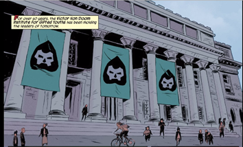 Runaways #1 doom school