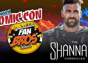 Manu Bennett and The Shannara Chronicles – NYCC 2015