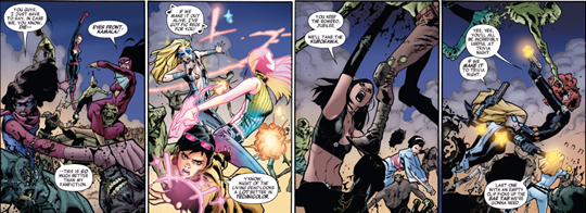 A-force #5 talk