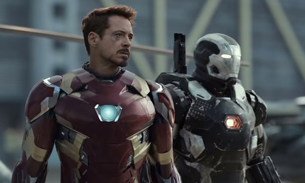 war machine and tony
