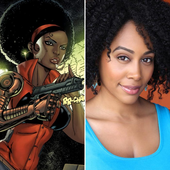 Simone Missick is Misty Knight
