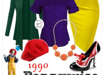"FANDOM FASHION: Stephen King's ""It"""