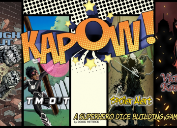 Tabletop Gaming: KAPOW – The Dice Building Game (REVIEW)