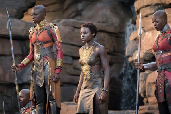 c541b7bc6 The Dora Milaje Step Into Formation in Black Panther Featurette! - For All  Nerds .
