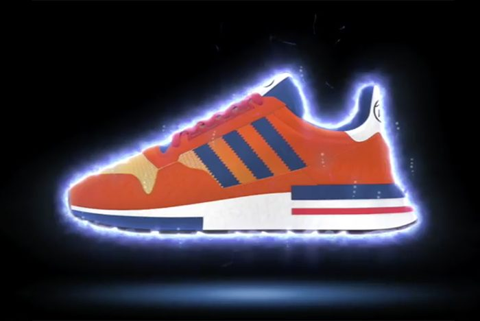 f46509a20c8 Kick the Dragon! Dragon Ball Z Sneakers From Adidas Coming This Fall ...