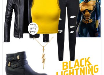 FANDOM FASHIONS: Black Lightning