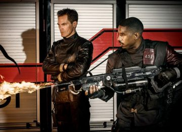 Michael B. Jordan Burns Another One in Fahrenheit 451 Teaser, Coming Soon From HBO!