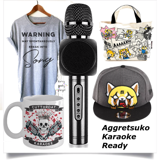d7afa2f3 FANDOM FASHIONS: Aggretsuko Rage Sets - For All Nerds .