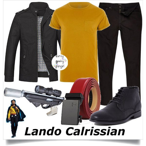 FANDOM FASHIONS  Lando Calrissian Sets (SOLO A Star Wars Story) - For All  Nerds . f9cffd7c11a