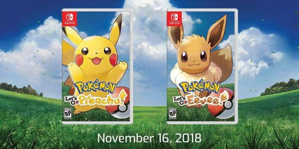 4248106173fcbe A trailer released last week, announcing and giving us a great look at  Pokémon, Let's Go Pikachu/Eevee. The game connects to Pokémon Go and ...