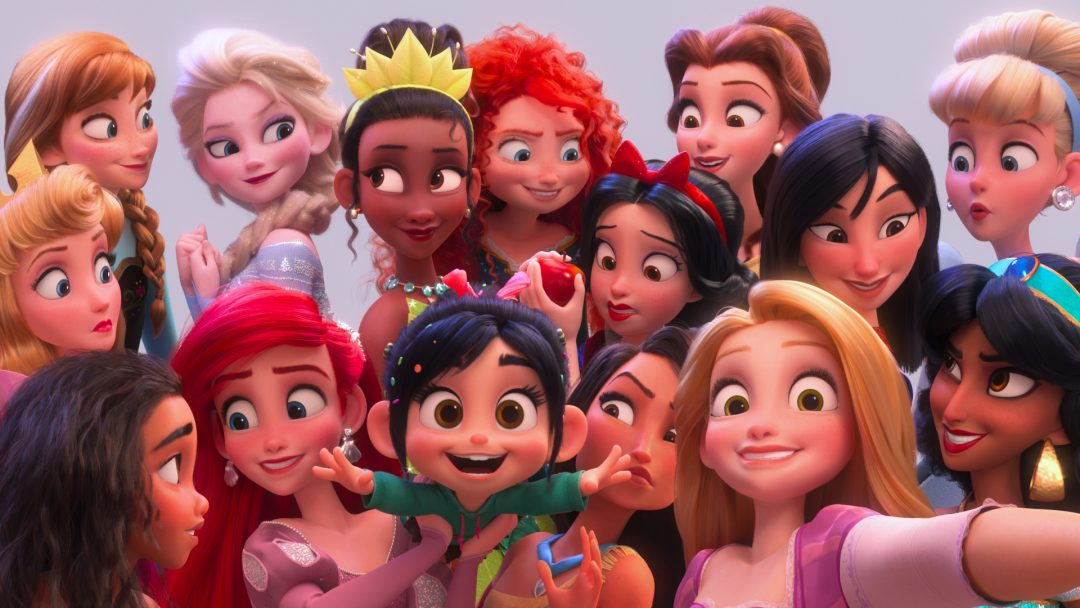 How Ralph Breaks the Internet Flipped The Disney Princesses - For All Nerds  .