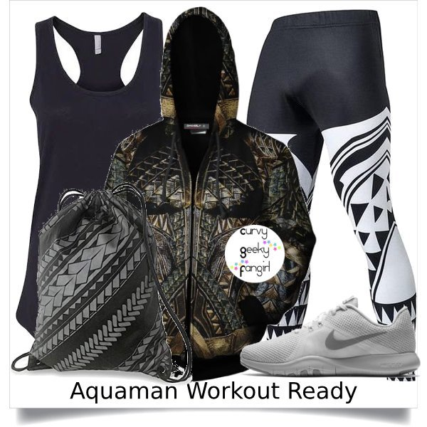 Aquaman Fandom Fitness Fashion