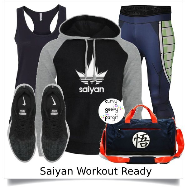 Dragon Ball Z Fandom Fitness Fashion