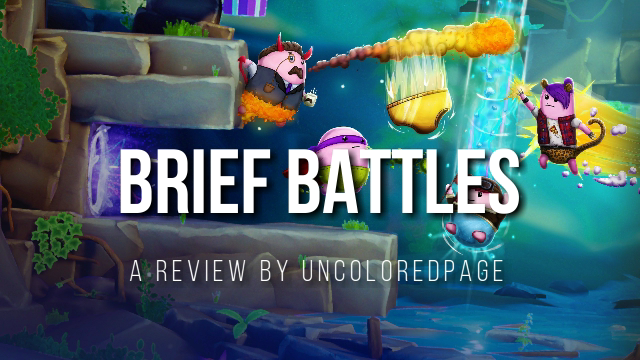 Brief Battles Game Review - Pantsless Fun - For All Nerds