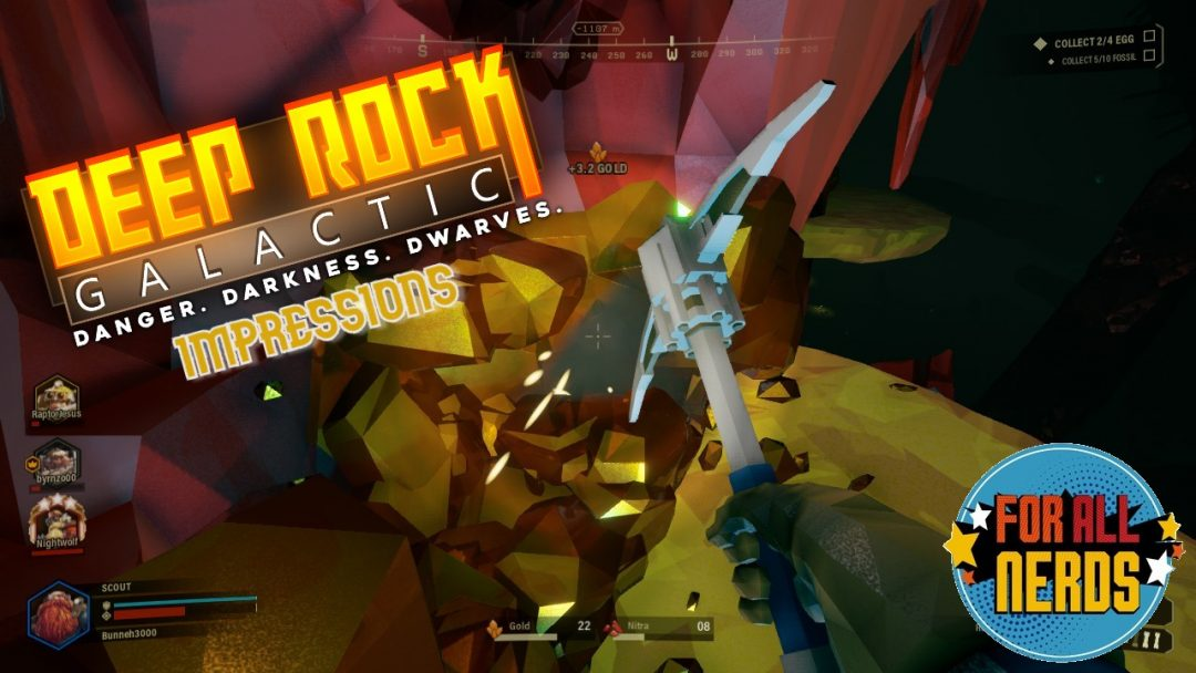 Deep Rock Galactic Is The Best Space Dwarf Simulator Ever