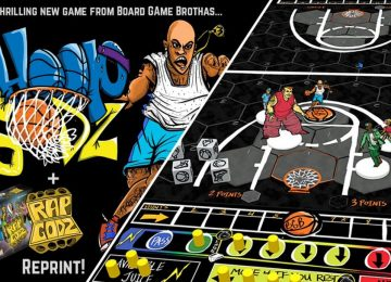 TABLETOP GAME REVIEW: Hoop Godz